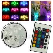 Waterproof Vase Lights Submersible Led Lights
