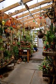 greenhouse gardening in winter home outdoor decoration