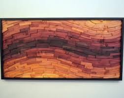 wall decor sunset streak wood wall for sale looking
