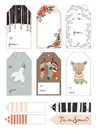 christmas gift tags templates free download rainforest islands ferry