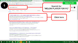 apk installer from pc melon for pc melon for bts