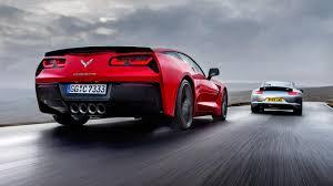 porsche 911 vs corvette 911 versus the corvette stingray