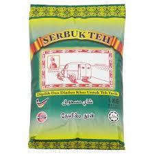Teh Hijau Serbuk cap sultan serbuk teh 1kg tesco groceries