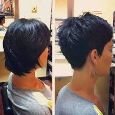 wedge haircuts front and back views 15 pixie cut back view haircuts hair styles pinterest