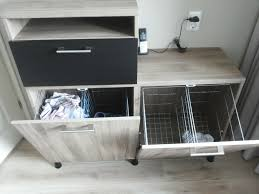 Ikea Cabinets Laundry Room by Maybe We U0027ll Put The Laundry In The Basket Besta Tilt Out Hamper