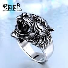 ring titanium aliexpress buy beier 316l stainless steel titanium tiger
