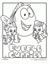 printable bubble guppies coloring pages aecost net aecost net
