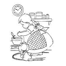 dessin de cuisine az coloriage