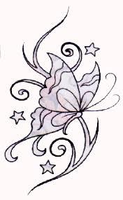 flowering vine designs tribal vine butterfly stencil crafts