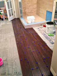 Style Selections Laminate Flooring Sweet Sewn Stitches Bath Heated Tile Floor Part 4