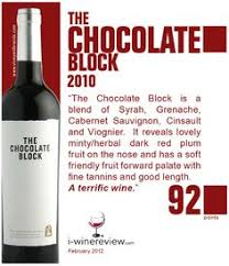 chocolate wine review the chocolate block rich smooth and silky wine easier to say