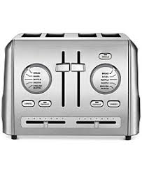 Cuisinart Toaster 4 Slice 4 Slice Toaster Macy U0027s