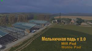 Map Pad Mill Pad V2 0 Map Farming Simulator 2015 15 Mod