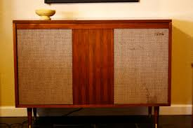 Mid Century Record Cabinet by Mid Century Modern Fisher Stereo Cabinet Or Side Table For The