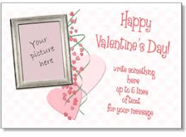 valentine u0027s day templates for photo cards add your picture to