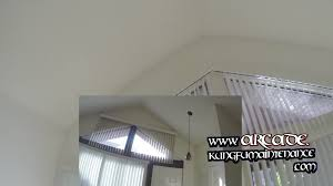 Celing Window by Angled Mount Vertical Blinds Search For Better Triangle Window