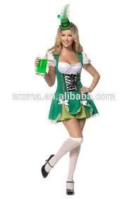 Beer Halloween Costume Wholesale Traditional Bavarian Woman Costume Maid Fancy