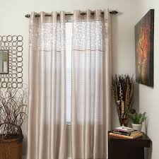 108 Inch Curtains Walmart by Amazon Com Lavish Home Karla Laser Cut Grommet Single Curtain