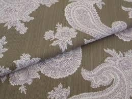 Home Decor Designer Fabric Pattern Chelsea Paisley Home Decor Designer Fabric Color Chocolate