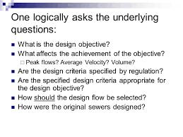 design criteria questions evolving criteria for stormwater management by nancy u schultz pe