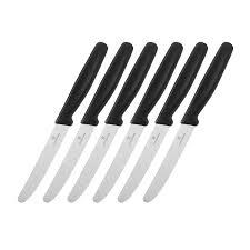 Victorinox Kitchen Knives Australia Victorinox 6pc Steak Knife Set Black On Sale Now