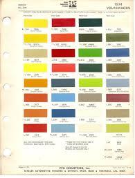 paint chips 1974 beetle vw bus volkswagen vw renk pinterest