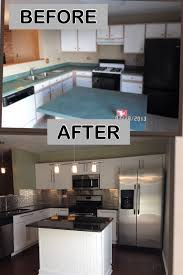 Inexpensive Kitchen Designs Kitchen Remodel On A Budget Everything Brand New For 7 000