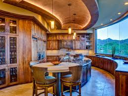 southwestern kitchen with a view lori carroll hgtv
