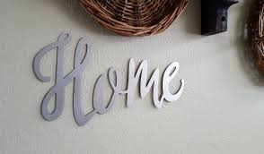 home word signs metal word sign farmhouse decor rustic sign