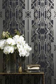 art deco decor interior design trend art deco wallpaper wall stencils paint
