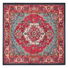 Red And Turquoise Area Rug Buy Turquoise Rug From Bed Bath U0026 Beyond