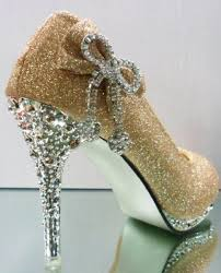 wedding shoes gold gold wedding shoes platform with bowknot high heel women