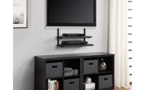 creative tv mounts shelf well suited ideas corner tv wall mount with shelves amazing