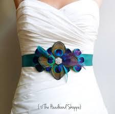 peacock wedding ideas peacock sash for wedding dress all women dresses