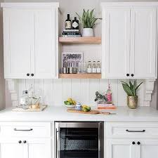 shiplap kitchen backsplash with cabinets shiplap kitchen cabinets design ideas