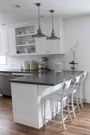 kitchen cabinets with countertops grey kitchen cabinets white countertops home design ideas