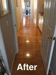 after polishing my hardwood floors using holloway house quick