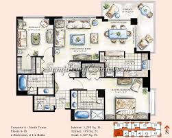 2 bedroom condo floor plans symphony condo fort lauderdale floorplans