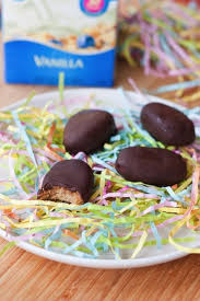 easter peanut butter eggs healthy chocolate peanut butter eggs
