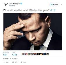 Full Meme - a rod tweets photo pondering world series turns into a meme thechive