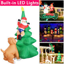 lighted christmas tree yard decorations fabric inflatable trees yard décor ebay