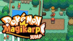 pokemon fan games online someone actually made this pokémon magikarp jump pokemon fan game