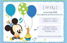 Mickey Mouse 1st Birthday Card 30 Mickey Mouse Invitation Template Free Premium Templates