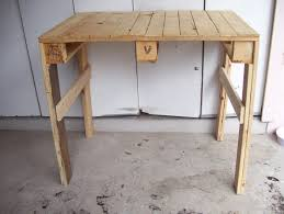 Table With Shelf Underneath by Rustic Rediscovered Pallet Potting Table My First Build