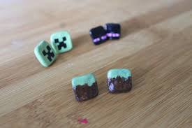 minecraft earrings best minecraft earrings photos 2017 blue maize