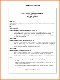 exles of chronological resumes 10 computer science resume objective memo heading