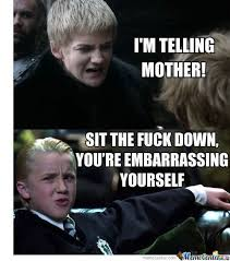Draco Memes - draco and joffrey by stuckinpc meme center