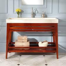 Trough Sink Bathroom Vanity 48