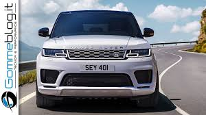 new 2018 range rover sport phev first zero emission plug in from