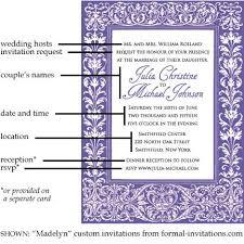 Simple Wedding Invitation Wording Wedding Invitation Wording Etiquette Orionjurinform Com